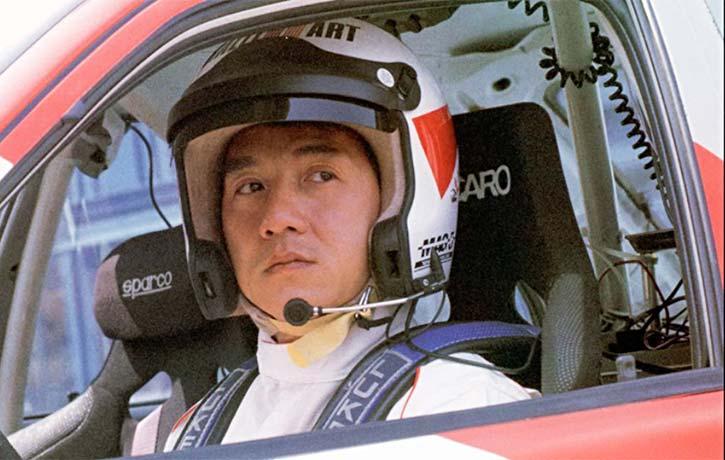 Jackie Chan lets rip
