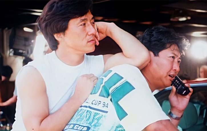 Jackie reunited with Sammo Hung for Thunderbolt