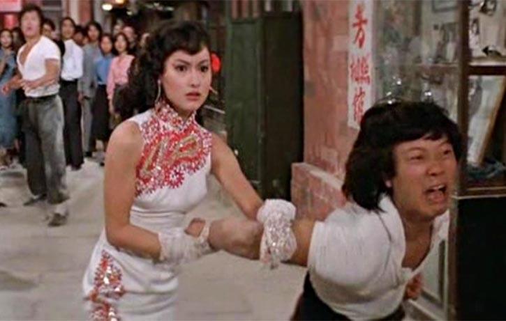 Kara Hui acts like she genuinely knows kung fu