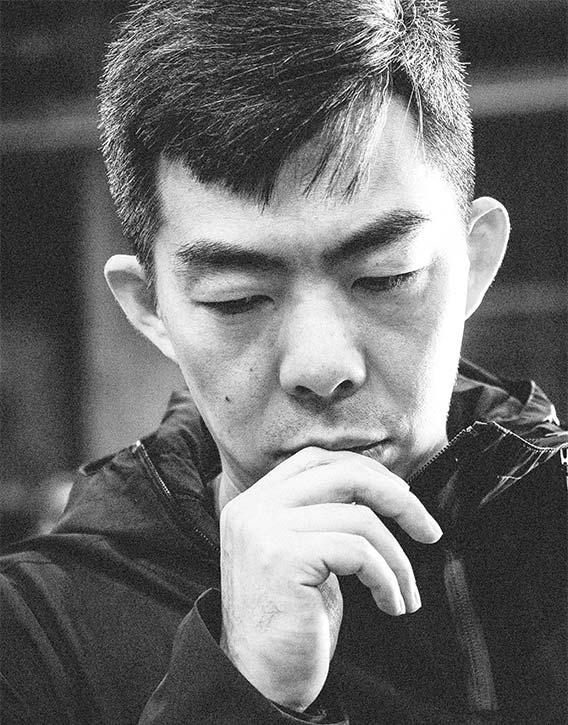 Lu Yang ponders how to manifest his vision