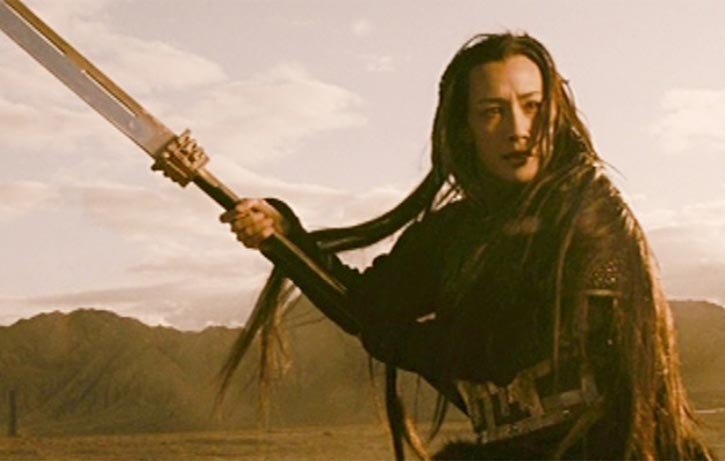 Maggie Q acquits herself well