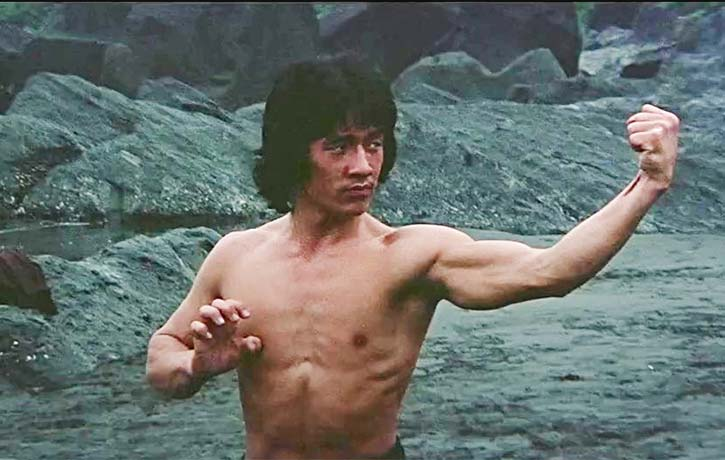 Nice to see Jackie Chan demonstrating realistic looking martial arts