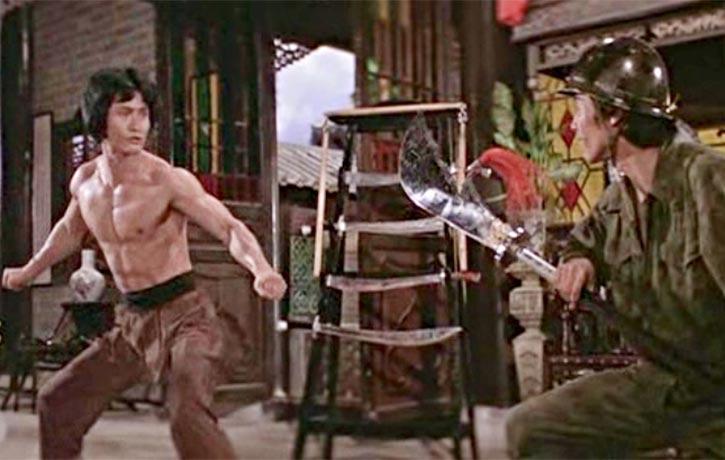 Physically impressive Kwan Yung Moon is a high kicking hulk
