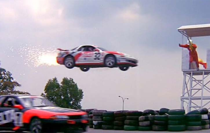 Spectacular stunts that any Hollywood production would be proud to feature