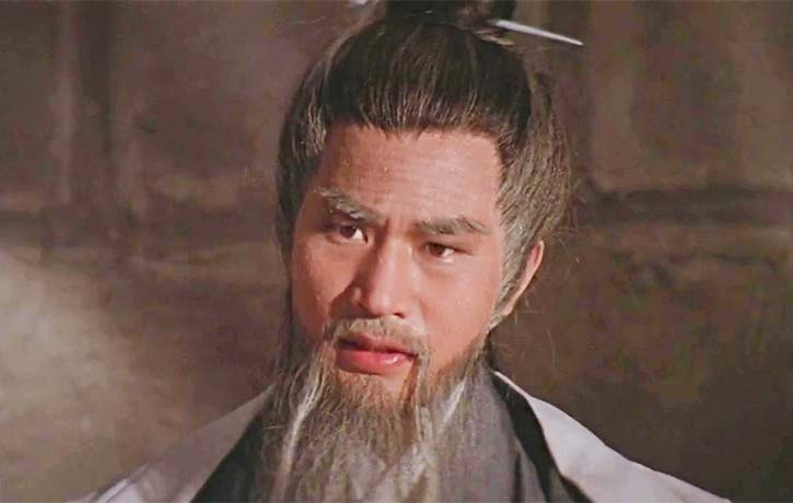 Dick Wei plays the dying Master