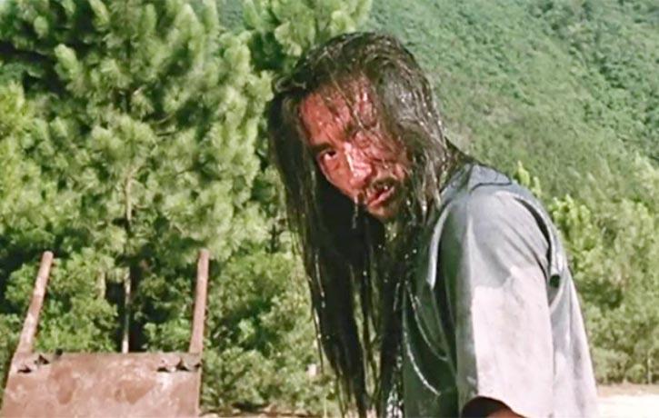 Hwang In Shik as the dangerous criminal Master Kam