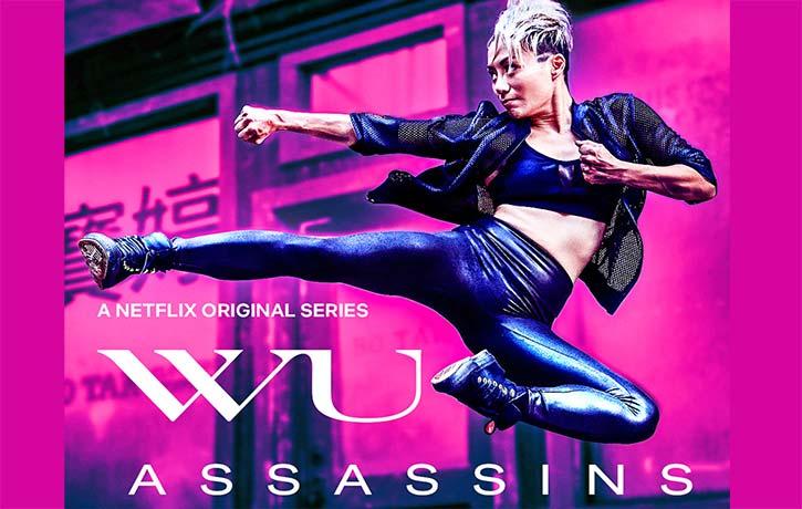 JuJu plays Zan in Wu Assassins from Netflix