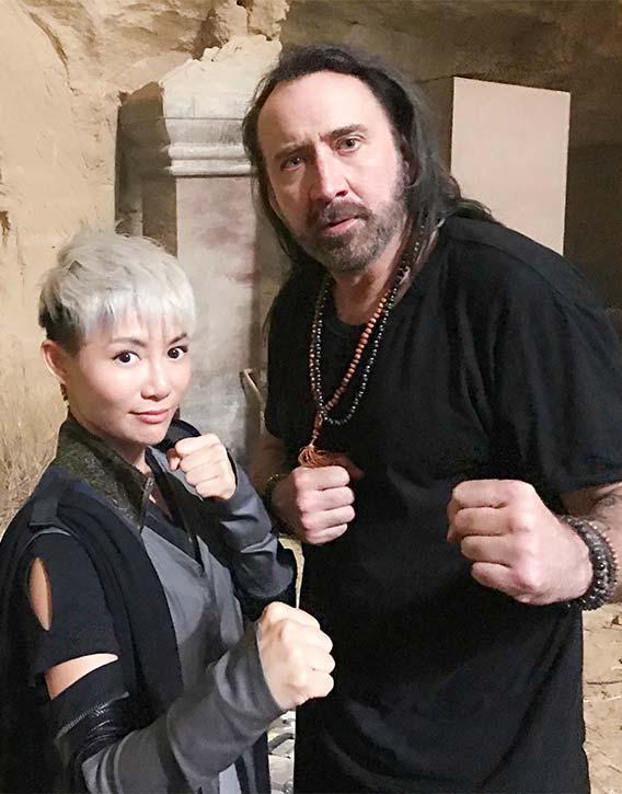 JuJu with Nicolas Cage