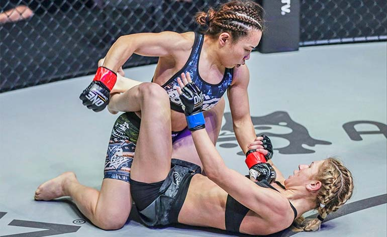 Mei Yamaguchi- Top 5 MMA Finishes - Kung Fu Kingdom