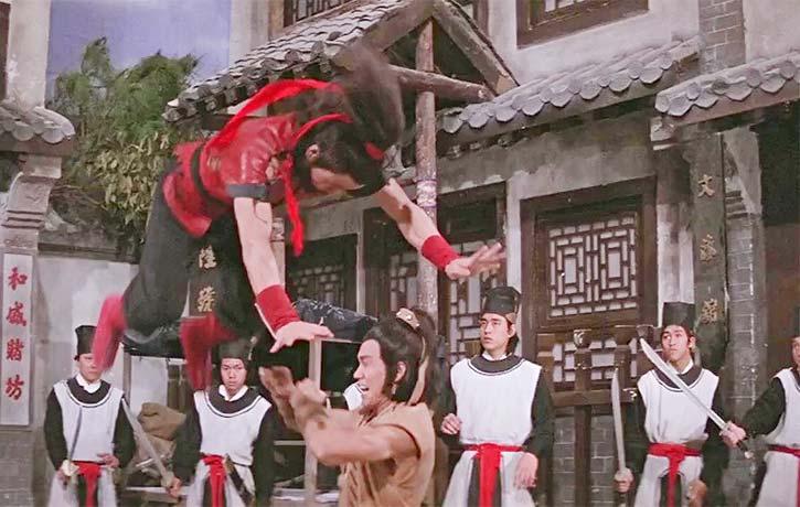 Opera style acrobatics