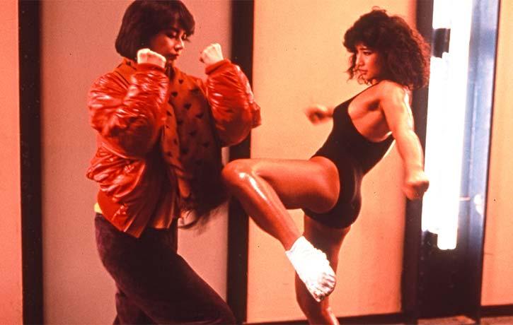 Sibelle Hu fights Michiko Nishiwaki