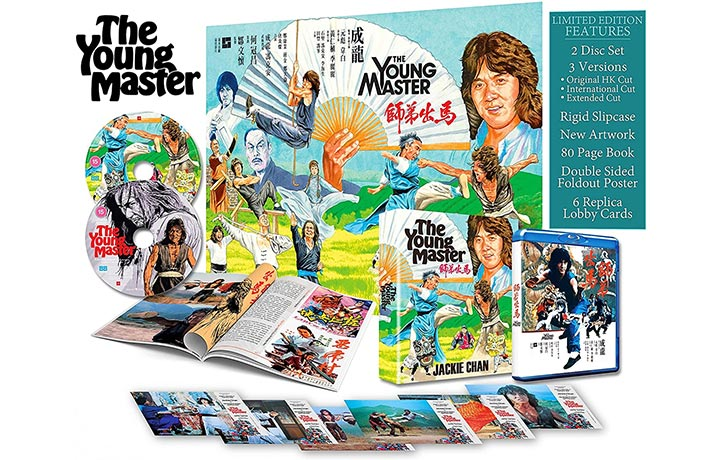 The Young Master now on Blu ray