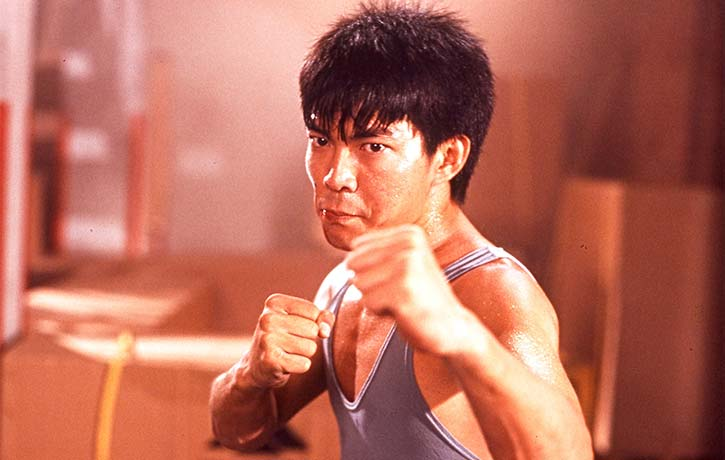 Yuen Biao pulls off a stunning sequence