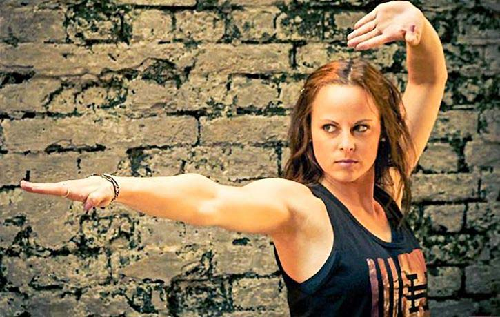 Chloe Bruce will break out her kicking skills in Never Back Down 4 Revolt