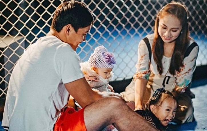 Family is the main priority for Eduard Folayang