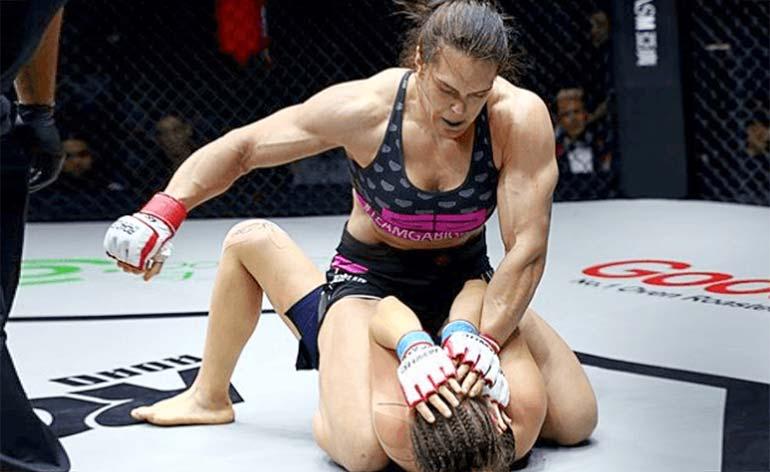 "Gabi ""She Hulk"" Garcia- Top 5 MMA Finishes - Kung Fu Kingdom"