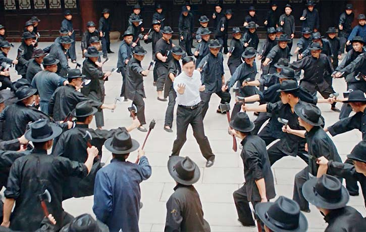 Ip Man fights against the odds