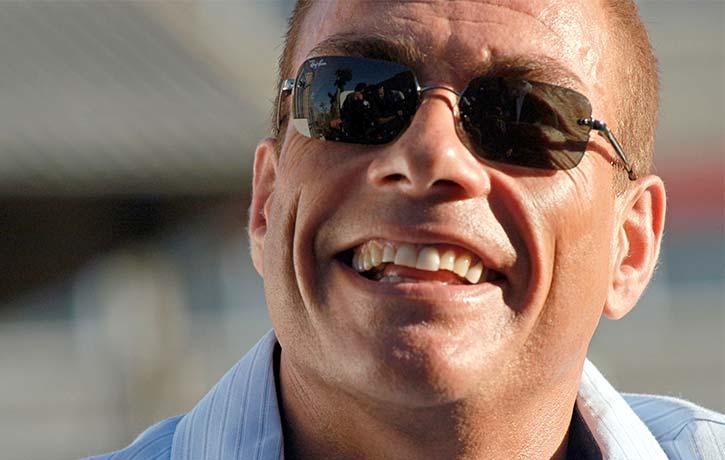 Jean Claude Van Damme in a career high performance