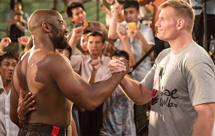 MJW and Josh Barnett in Never Back Down 3