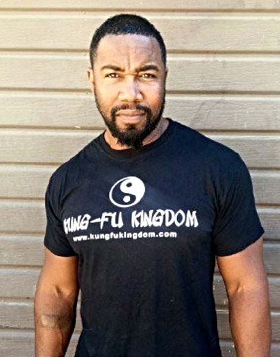 Michael Jai White authentic martial artist and friend of KFK