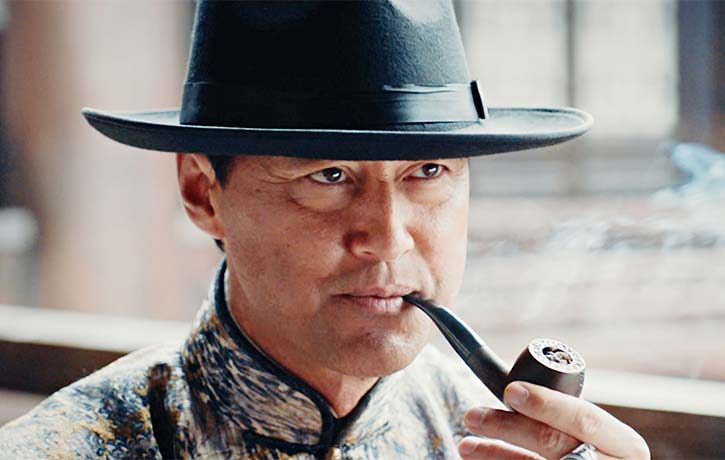 Michael Wong as mobster boss San Ye