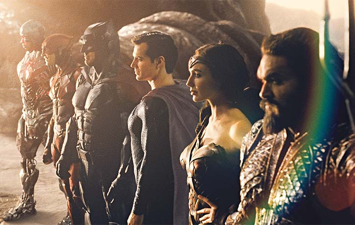 The Justice League unites