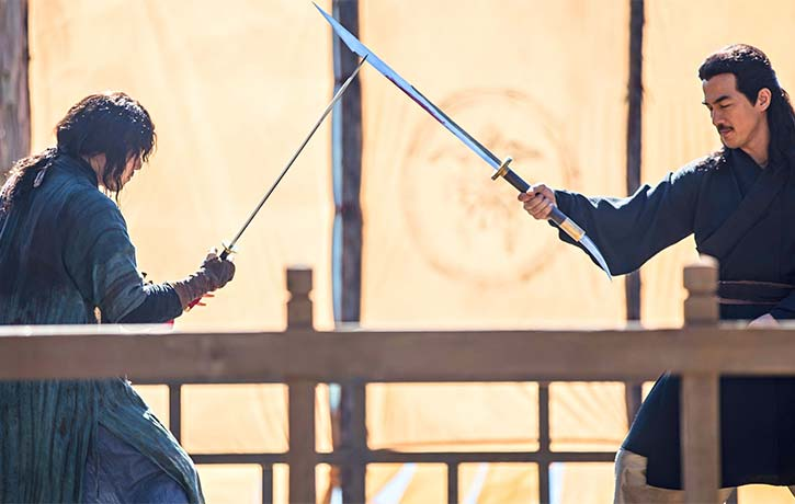 All good sword fighting films finish with a duel between the hero and the villain