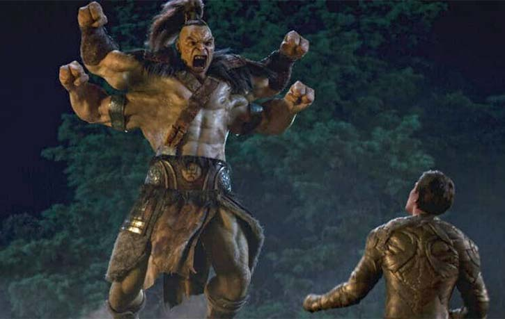 Cole must hold his own against Goro