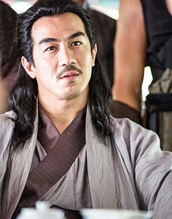 Joe Taslim stars as the wicked Gurutai