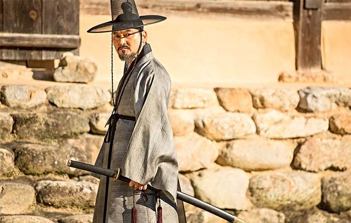 Jung Man sik plays Min Seung ho
