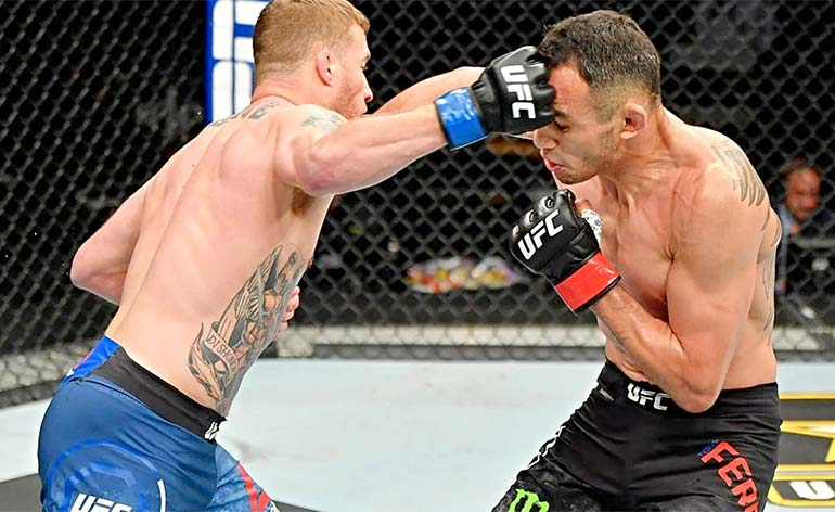 """Justin """"The Highlight"""" Gaethje- Top 5 MMA Finishes - Kung Fu Kingdom"""