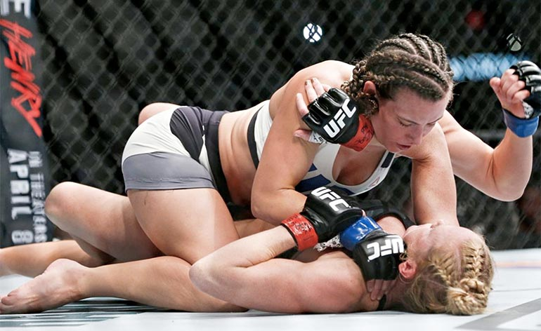 Miesha Tate- Top 5 MMA Finishes - Kung Fu Kingdom