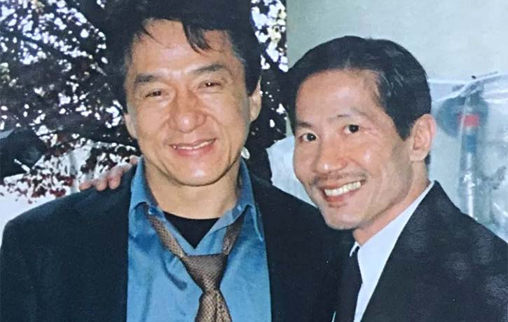 Phil Tan with Jackie Chan Credit philtanproductions.com