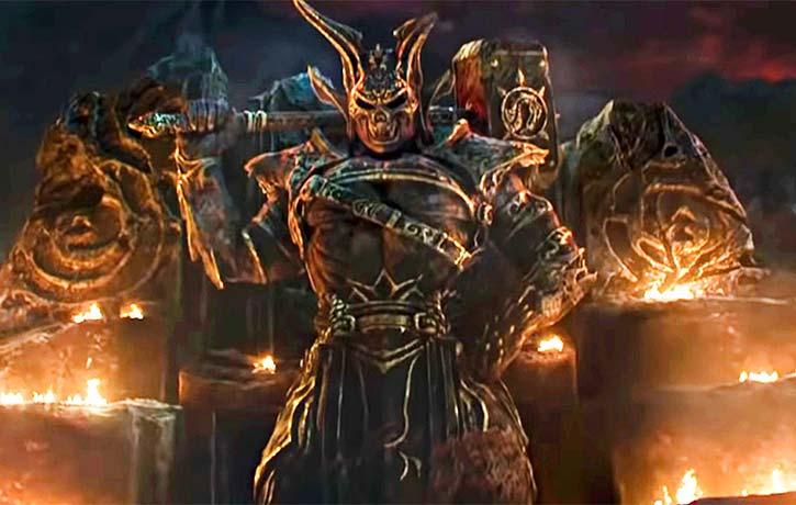 Shao Kahn in the Mortal Kombat reboot