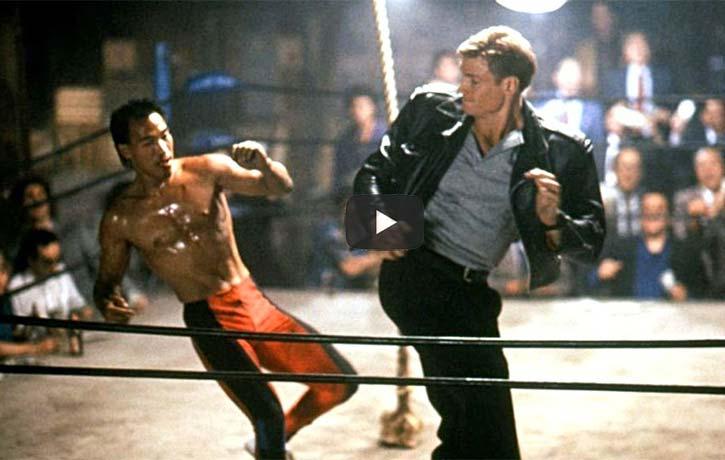 Showdown in Little Tokyo fight scene Kung Fu Kingdom