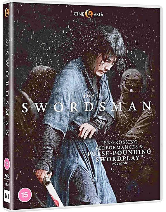 The Swordsman Blu ray KUNG FU KINGDOM