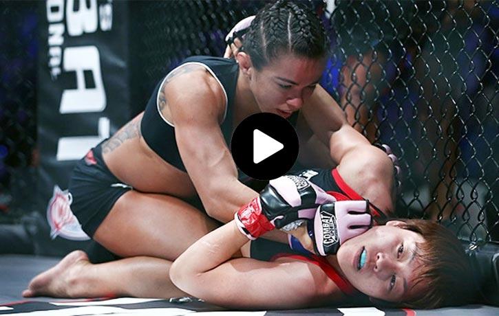 Claudia Gadelha vs. Ayaka Hamasak