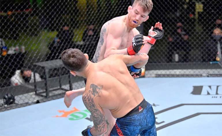 "Cory ""The Sandman"" Sandhagen Top 5 MMA Finishes - Kung Fu Kingdom"