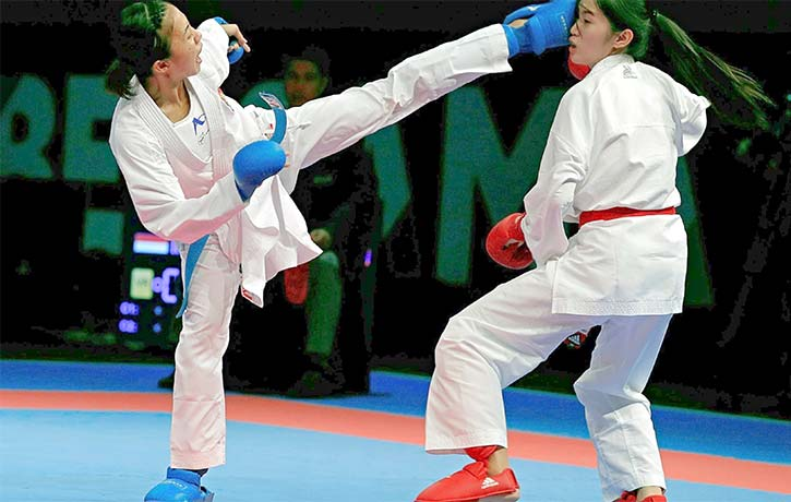 Going for the Ippon