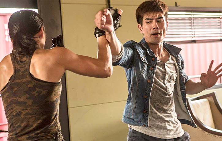 Philip NG ramps up the intensity in this fight scene