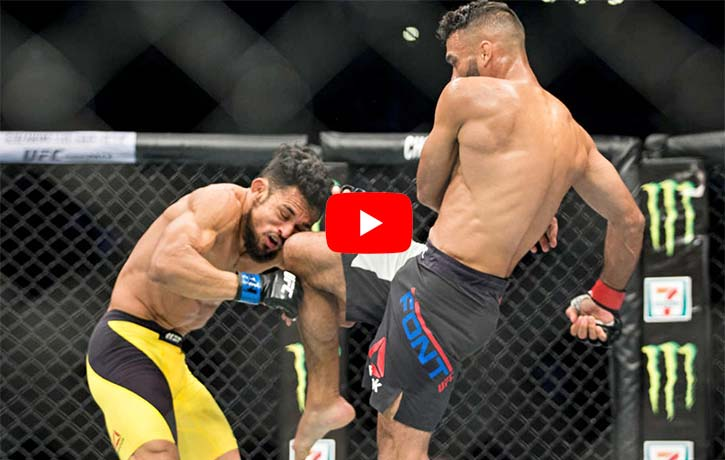 Rob Font vs Douglas Silva de Andrade