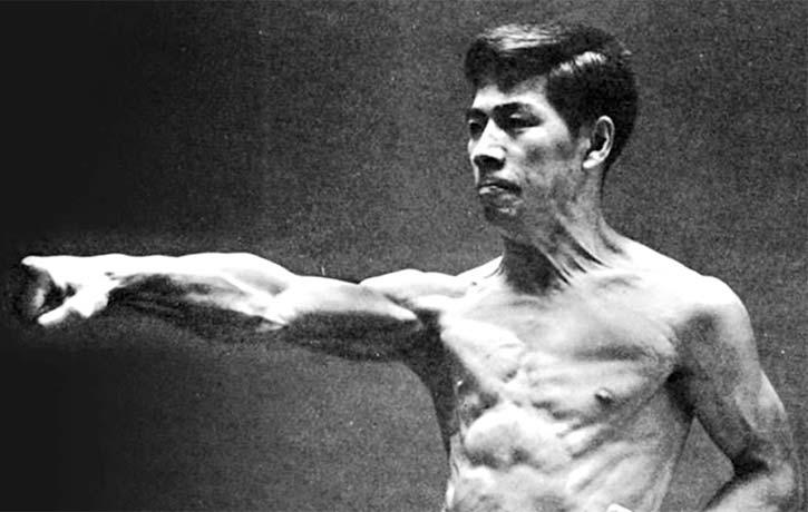 Sensei Nishiyama in action