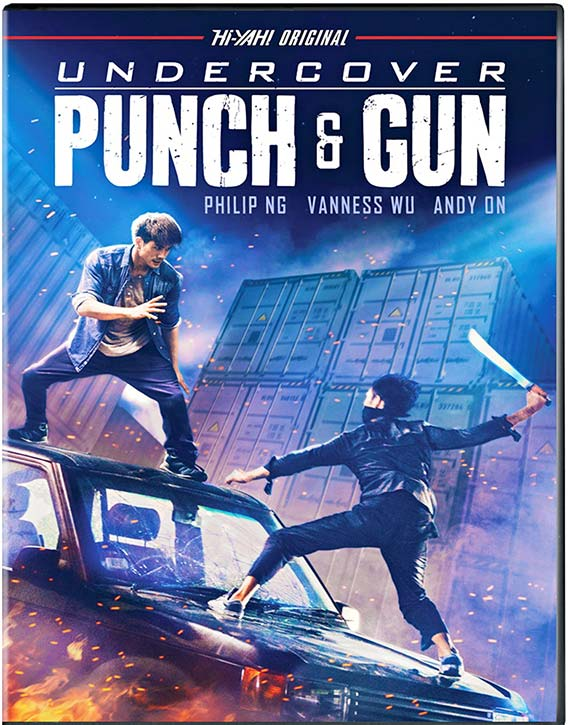 Undercover Punch and Gun is out on Blu ray and digital download now