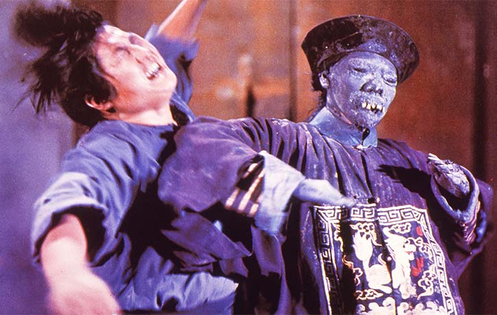 Yuen Biao was a stunt double