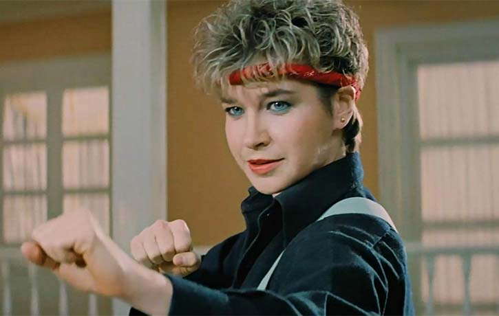 A first rate interview with Cynthia Rothrock is included