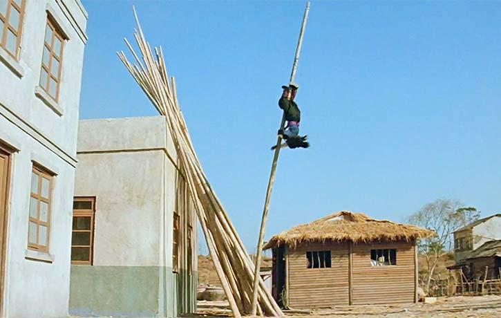 Incredible stunt work