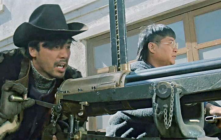 Kenny Bee grabs the Gatling Gun