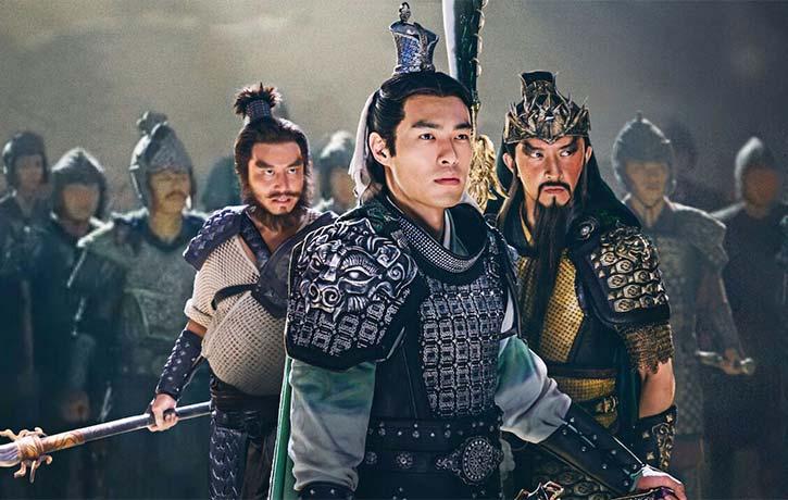 Liu Bei Guan Yu and Zhang Fei feel betrayed