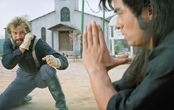 Richard Norton faces a tough opponent in Yasuaki Kurata