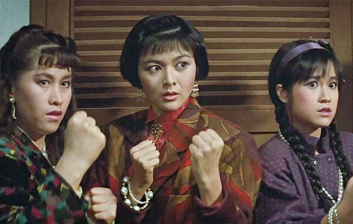 Rosamund Kwan leads the ladies